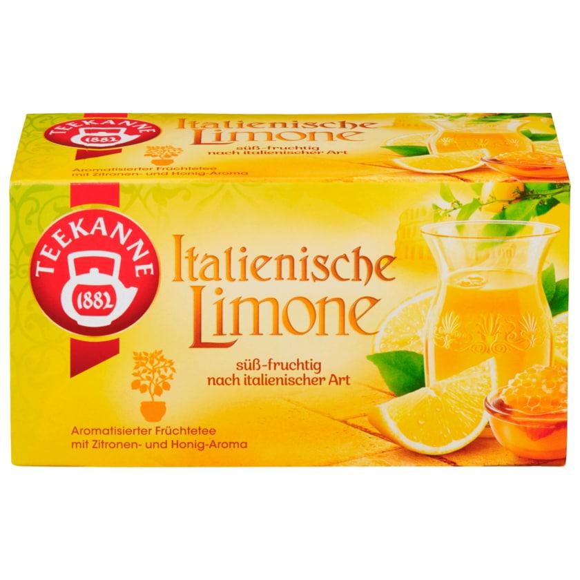Teekanne Italienische Limone 50g, 20 Beutel