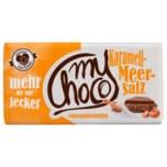 Mychoco Schokolade Karamel-Meersalz 180g