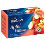 Meßmer Apfel-Vanille 55g, 20 Beutel