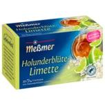 Meßmer Holunder-Limette 50g, 20 Beutel