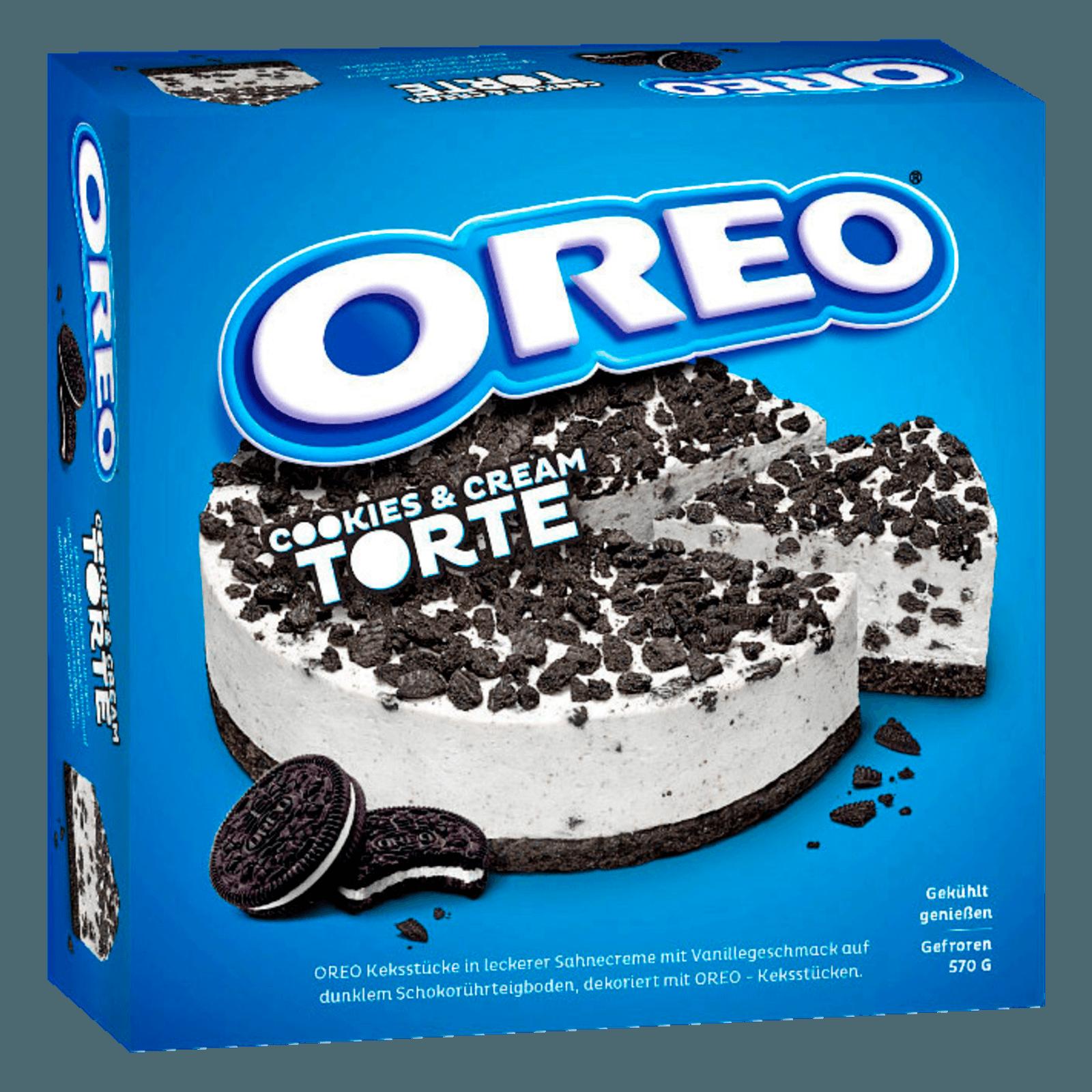Oreo Cookies Cream Torte 570g Bei Rewe Online Bestellen