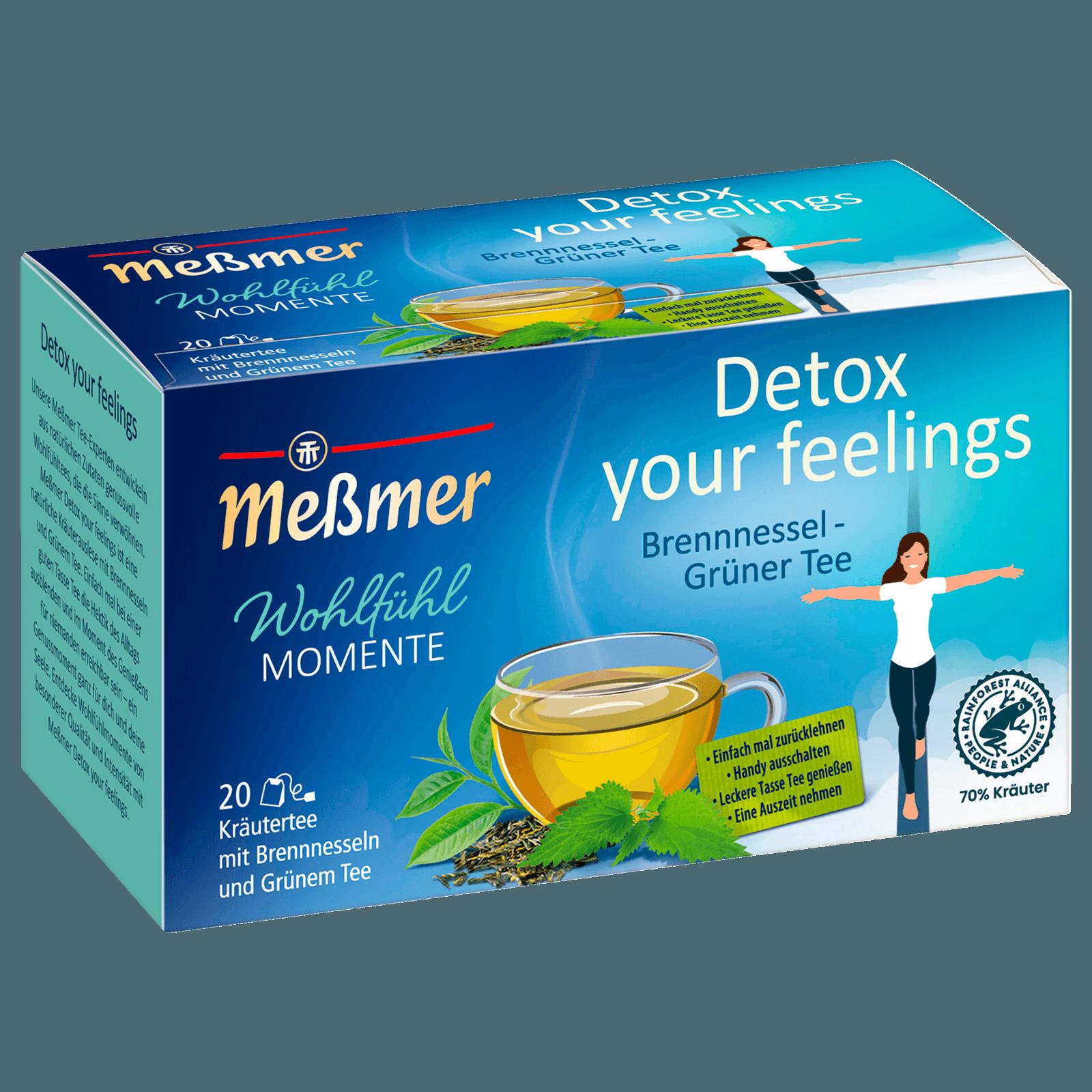Meßmer Brennessel-Grüner Tee 40g, 20 Beutel bei REWE online bestellen!