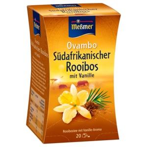 Meßmer Südafrikanischer Ovambo Rooibos-Vanille 40g, 20 Beutel