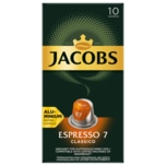 Jacobs Kaffeekapseln Espresso 7 Classico, 10 Nespresso kompatible Kapseln