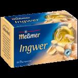 Meßmer Ingwer Tee 40g, 20 Beutel