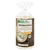 REWE Bio Reiswaffeln ohne Salzzugabe 100g