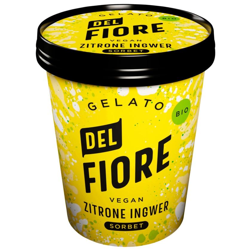 Del Fiore Gelato Bio Zitrone & Ingwer Sorbet 130ml