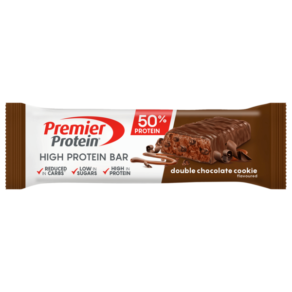 Premier Protein Riegel Double Chocolate Cookie 40g