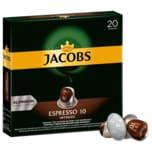 Jacobs Kaffeekapseln Espresso 10 Intenso, 20 Nespresso kompatible Kapseln