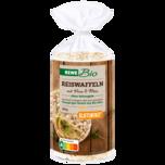 Rewe Bio Reiswaffeln mit Hirse und Mais 100g