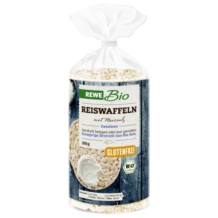 REWE Bio Reiswaffeln mit Meersalz