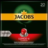 Jacobs Lungo 6 Classico 104g, 20 Kapseln