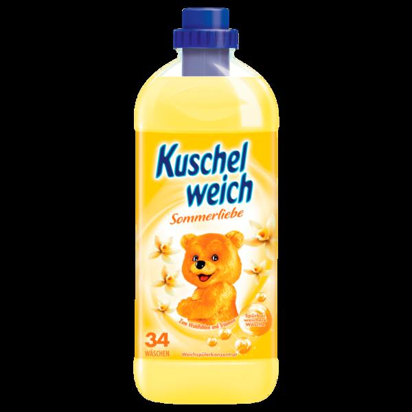 Kuschelweich Weichspüler Sommerliebe 1 l - 34 WL