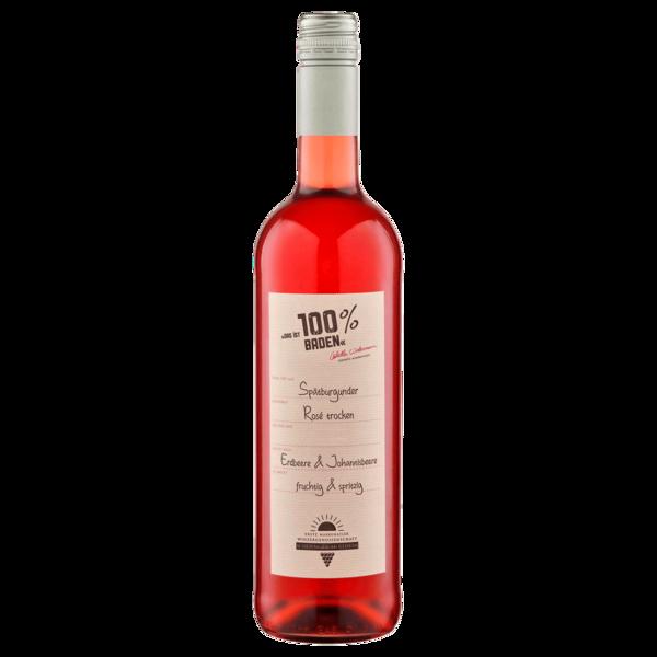 100% Baden Spätburgunder Rosé QBA trocken 0,75L