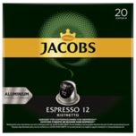 Jacobs Kaffeekapseln Espresso 12 Ristretto 104g, 20 Nespresso kompatible Kapseln