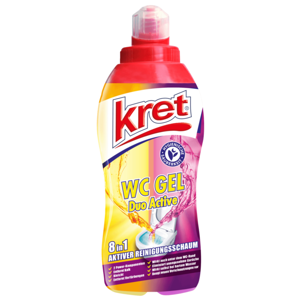 Kret WC Gel Duo Active 680ml