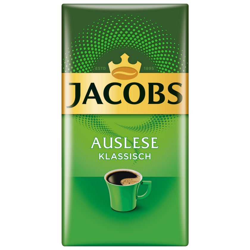 Jacobs Filterkaffee Auslese klassisch 500g