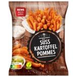 REWE Beste Wahl Süsskartoffel Pommes 500g