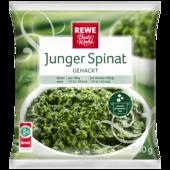 REWE Beste Wahl junger Spinat Gehackt 500g