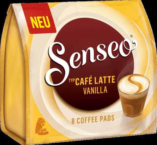 Senseo Pads Café Latte Vanilla, 8 Kaffeepads