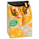 REWE to go Hähnchen Sweet Chili Wrap Mit Paprika, Mais und Rucola 180g