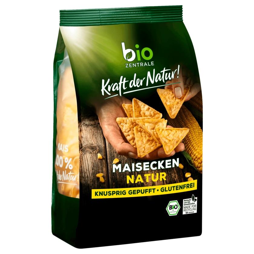 Biozentrale Bio Mais Ecken Natur 90g
