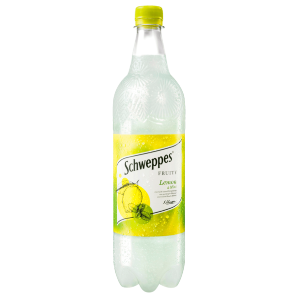 Schweppes Fruity Lemon & Mint 1l