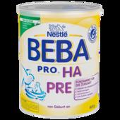 Nestlé BEBA Pro HA PRE von Geburt an 800g