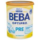 Nestlé Beba Optipro Pre Anfangsmilch von Geburt an Pulver 800g