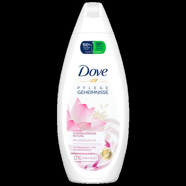Dove Duschgel Pflegedusche mit Reiswasser- und Lotusblütenduft 250ml