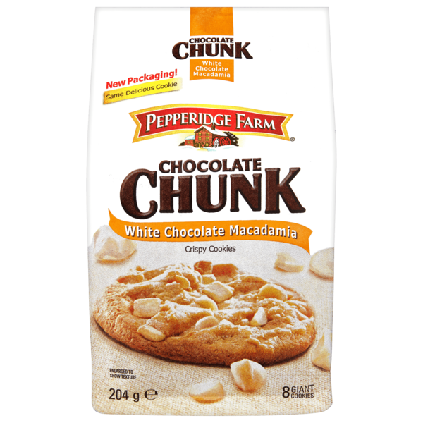 Pepperidge Farm Chocolate Chunk White Chocolate Macadamia 204g