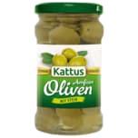 Kattus Grüne Amfissa Oliven mit Stein 300g