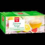 REWE Beste Wahl Früchtetee Zitrone Feige 50g, 20 Beutel