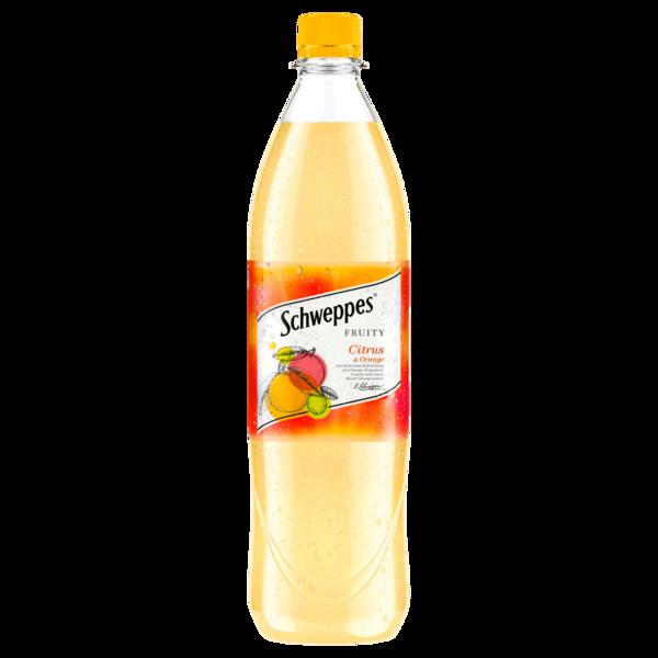 Schweppes Fruity Citrus Orange 1l