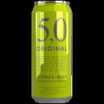 5,0 Original Citrus-Bier 0,5l