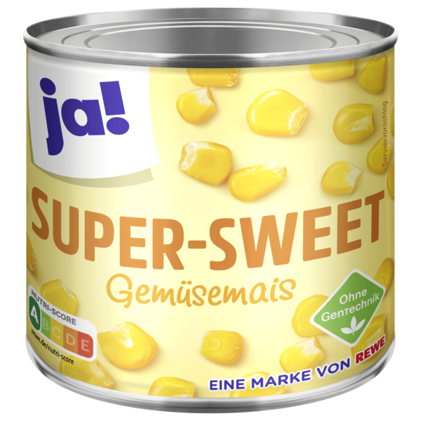 ja! Super Sweet Gemüsemais 425ml