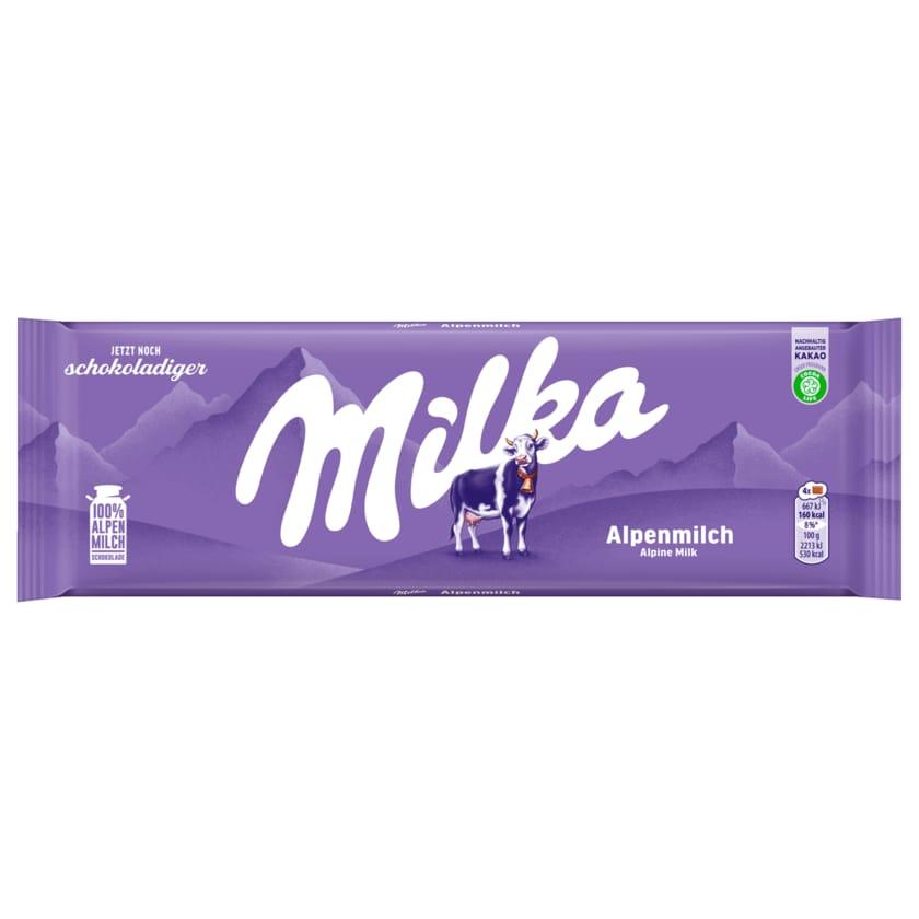 Milka Schokolade Alpenmilch 270g