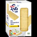 REWE frei von Bio- Knusperbrot Mais Glutenfrei 130g