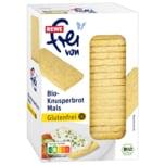 REWE frei von Bio Knusperbrot Mais glutenfrei 130g