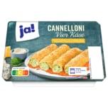 ja! Cannelloni Vier Käse mit Spinatfüllung 400g