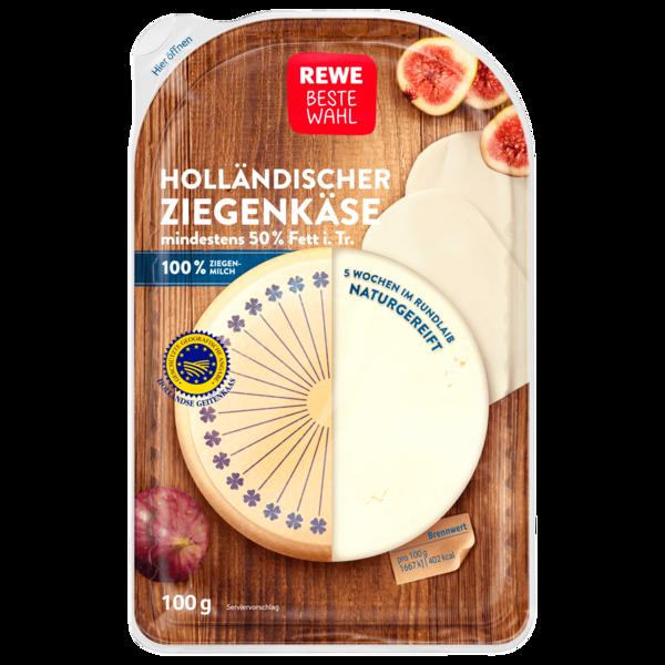 REWE Beste Wahl Ziegenkäse Scheiben 100g