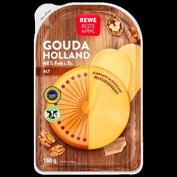 REWE Beste Wahl Gouda Holland Alt 150g