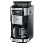 Severin Kaffeemaschine 4810 mit Mahlwerk Edelstahl/schwarz