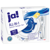 Ja! Geschirrtabs All-In-1, 40 Tabs