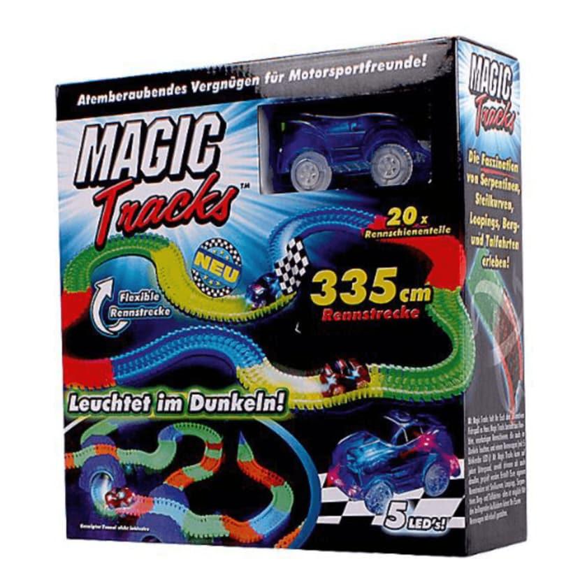 Magic Tracks Rennauto mit Straße