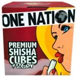 One Nation Premium Shisha Kohle #26er, 1kg