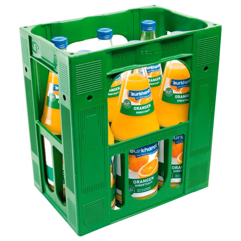 Burkhardt Orangen-Direktsaft 6x1l