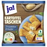 ja! Kartoffeltaschen Frischkäse-Kräuter-Füllung 600g, 10 Stück