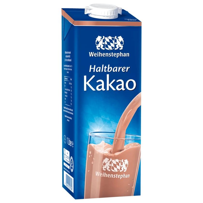 Weihenstephan Haltbarer Kakao 1l