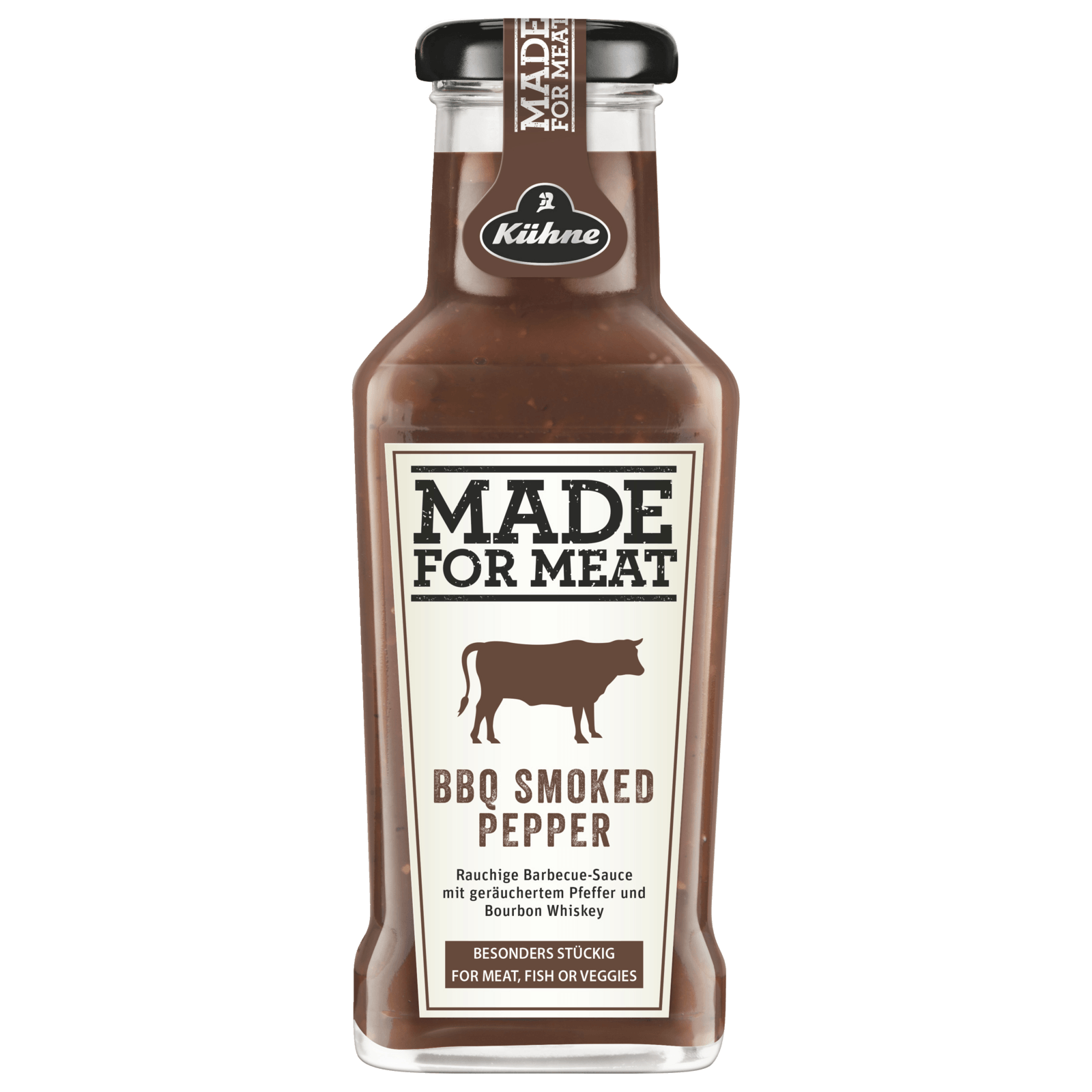 Kühne Made for Meat Smoked Pepper BBQ Sauce 235ml